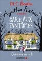 Couverture Agatha Raisin enquête, tome 14 : Gare aux fantômes Editions Albin Michel 2018