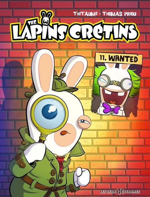 Couverture Les Lapins crétins, tome 11 : Wanted