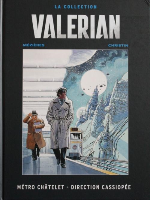 Couverture Valérian, Agent Spatio-temporel, tome 09 : Métro Châtelet direction Cassiopée