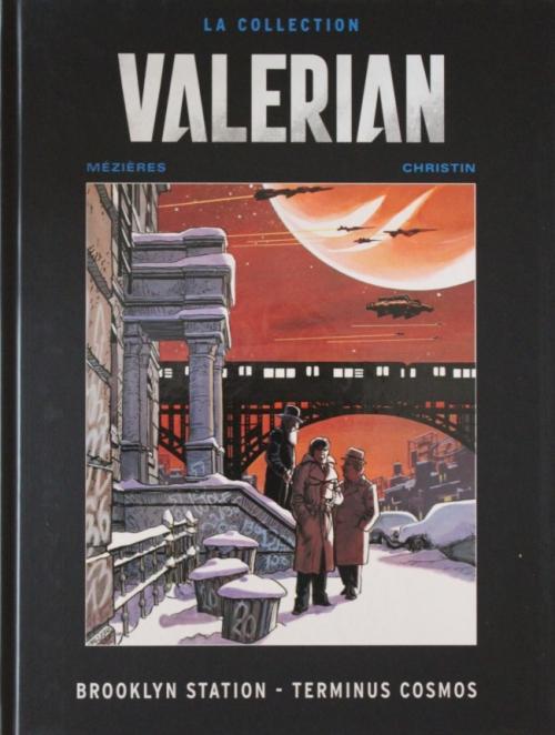 Couverture Valérian, Agent Spatio-temporel, tome 10 : Brooklyn Station, Terminus Cosmos