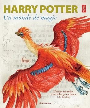 Couverture Harry Potter : Un monde de magie