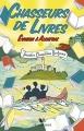 Couverture Chasseurs de livres, tome 3 : Evasion à Alcatraz Editions Robert Laffont (R - Jeunesse) 2018