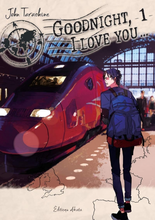 Couverture Goodnight, I love you..., tome 1