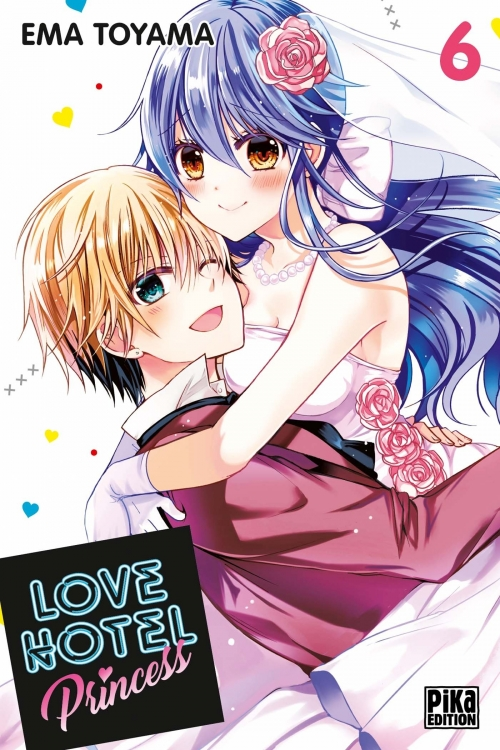 Couverture Love Hotel Princess, tome 6