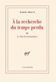 Couverture Le Côté de Guermantes, intégrale Editions Gallimard  (Blanche) 1992