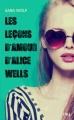 Couverture Les leçons d'amour d'Alice Wells Editions Pocket (Jeunesse) 2018