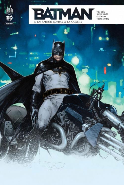 Couverture Batman Rebirth, tome 05 : En amour comme à la guerre