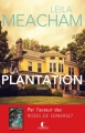 Couverture La plantation Editions Charleston 2014