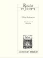 Couverture Roméo et Juliette Editions Actes Sud (Papiers) 2011