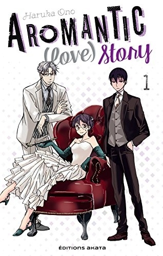 Couverture Aromantic (love) story, tome 1