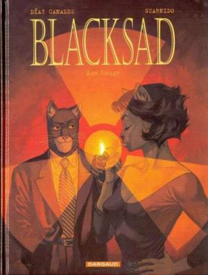 Couverture Blacksad, tome 3 : Ame rouge