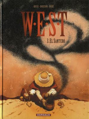 Couverture W.E.S.T, tome 3 : El Santero