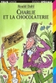 Couverture Charlie et la chocolaterie Editions Folio  (Junior - Edition spéciale) 2000