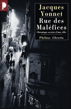 Couverture Rue des maléfices : Chronique secrète d'une ville