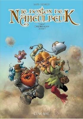 Couverture Le donjon de Naheulbeuk (BD), tome 06 : Deuxième saison, partie 4