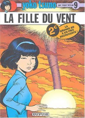 Couverture Yoko Tsuno, tome 09 : La Fille du vent