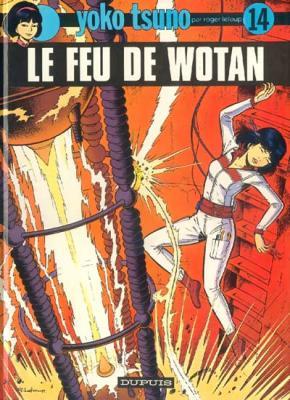 Couverture Yoko Tsuno, tome 14 : Le Feu de Wotan
