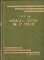 Couverture Voyage au centre de la terre Editions Hachette (Bibliothèque Verte) 1923