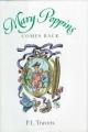 Couverture Le retour de Mary Poppins Editions Houghton Mifflin Harcourt 1997