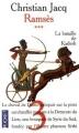 Couverture Ramsès, tome 3 : La bataille de Kadesh Editions Pocket 1999