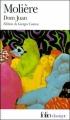 Couverture Dom Juan Editions Folio  (Classique) 2000
