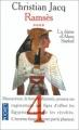 Couverture Ramsès, tome 4 : La dame d'Abou Simbel Editions Pocket 1999