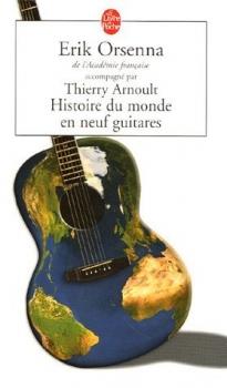 Couverture Histoire du monde en neuf guitares