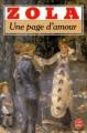 Couverture Une page d'amour Editions Le Livre de Poche 1975