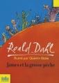 Couverture James et la grosse pêche Editions Folio  (Junior) 2008