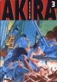 Couverture Akira (noir et blanc), tome 3 Editions Glénat (Seinen) 1999