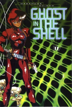 Couverture Ghost in the shell, tome 2