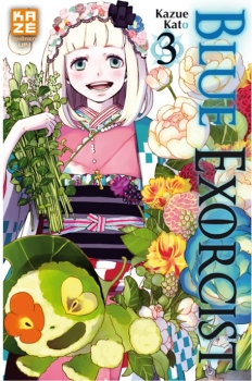 Couverture Blue Exorcist, tome 03