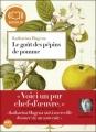 Couverture Le Goût des pépins de pomme Editions Audiolib 2010