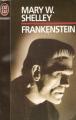 Couverture Frankenstein ou le Prométhée moderne / Frankenstein Editions J'ai Lu (Epouvante) 1993