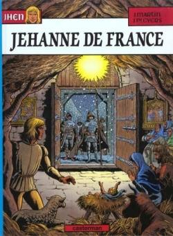 Couverture Jhen, tome 02 : Jehanne de France