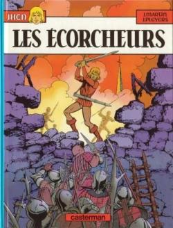 Couverture Jhen, tome 03 : Les écorcheurs