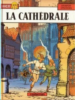 Couverture Jhen, tome 05 : La Cathédrale
