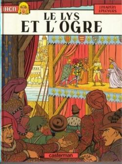 Couverture Jhen, tome 06 : Le Lys et l'ogre