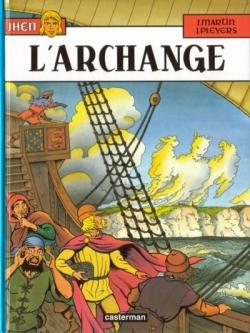 Couverture Jhen, tome 09 : L'Archange