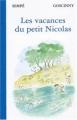 Couverture Les vacances du petit Nicolas Editions Denoël 2003