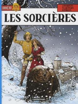 Couverture Jhen, tome 10 : Les Sorcières