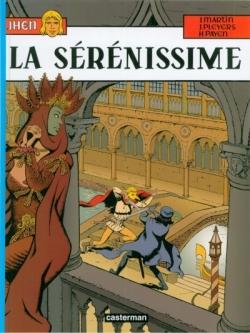 Couverture Jhen, tome 11 : La Sérénissime