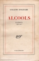 Couverture Alcools Editions Gallimard  (Blanche) 1948