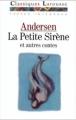Couverture La petite sirène et autres contes Editions Larousse (Classiques) 1990