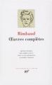 Couverture Oeuvres complètes : Poésie, prose et correspondance Editions Gallimard  (Bibliothèque de la pléiade) 2009