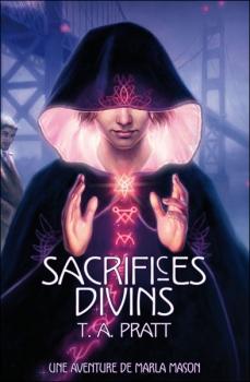 Couverture Une Aventure de Marla Mason, tome 1 : Sacrifices Divins