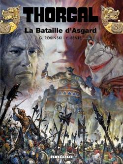 Couverture Thorgal, tome 32 : La Bataille d'Asgard