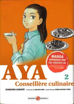 Couverture Aya conseillère culinaire, tome 2