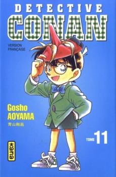 Couverture Détective Conan, tome 11 de Gosho Aoyama