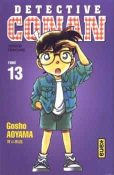 Couverture Détective Conan, tome 13 de Gosho Aoyama